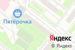 Схема проезда до компании Универсальный магазин в Нижнем Новгороде
