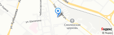 Элен на карте Нижнего Новгорода