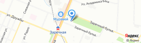 Банкомат Банк Санкт-Петербург на карте Нижнего Новгорода