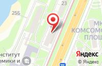 Схема проезда до компании Дешевая мебель тут в Нижнем Новгороде