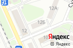 Схема проезда до компании Мебельснаб в Нижнем Новгороде