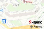 Схема проезда до компании modena в Нижнем Новгороде