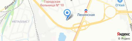 Колбасофф на карте Нижнего Новгорода