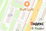 Схема проезда до компании Катти Сарк в Нижнем Новгороде