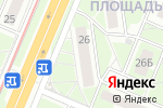Схема проезда до компании UniStream в Нижнем Новгороде
