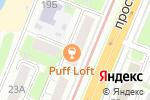 Схема проезда до компании Город РАМ в Нижнем Новгороде