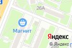 Схема проезда до компании Авоська в Нижнем Новгороде