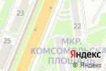 Схема проезда до компании Центр мобильного сервиса в Нижнем Новгороде