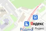 Схема проезда до компании Компания по обслуживанию автокондиционеров в Нижнем Новгороде