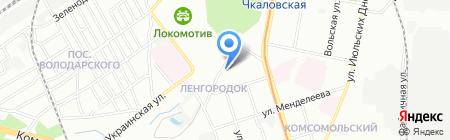 Комфорт на карте Нижнего Новгорода