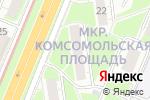 Схема проезда до компании Одиссея в Нижнем Новгороде