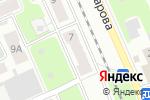 Схема проезда до компании БиоСтрой в Нижнем Новгороде