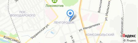 Гудви на карте Нижнего Новгорода