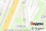 Схема проезда до компании Соло в Нижнем Новгороде