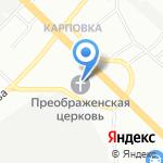 Нижегородская Епархия Русской Православной Церкви на карте Нижнего Новгорода