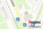 Схема проезда до компании Выбор в Нижнем Новгороде