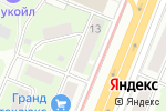 Схема проезда до компании Красное & Белое в Нижнем Новгороде