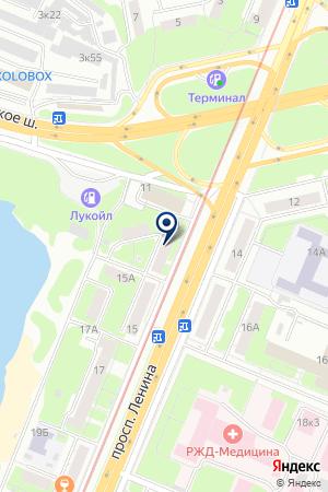 СМС.РУ на карте Нижнего Новгорода