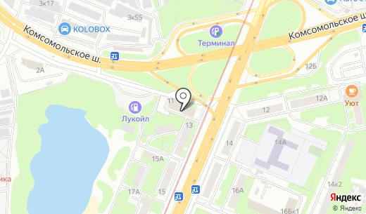 КБ ЗЛАТКОМБАНК. Схема проезда в Нижнем Новгороде