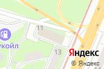 Схема проезда до компании Программа-Т в Нижнем Новгороде