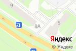 Схема проезда до компании Алена в Нижнем Новгороде