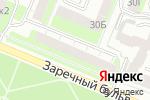 Схема проезда до компании Специализированный стоматологический кабинет в Нижнем Новгороде