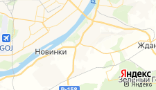 Гостиницы города Ольгино на карте