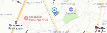 Отдых на карте Нижнего Новгорода