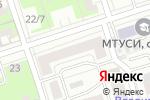 Схема проезда до компании Botinni в Нижнем Новгороде
