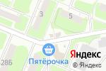 Схема проезда до компании Ёршъ в Нижнем Новгороде