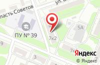 Схема проезда до компании Квест-Сервис в Ярославле