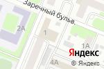 Схема проезда до компании Автостоянка на Заречном бульваре в Нижнем Новгороде