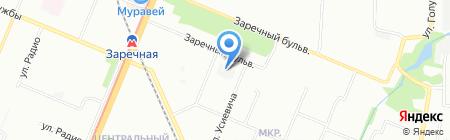 Строй-Сити на карте Нижнего Новгорода