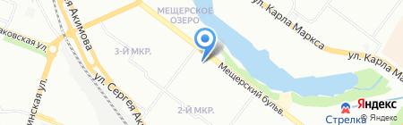 ЯВижу! на карте Нижнего Новгорода