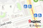 Схема проезда до компании Арес в Нижнем Новгороде