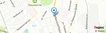 Эдельвейс-НН на карте Нижнего Новгорода