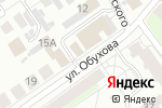 Схема проезда до компании Родос в Нижнем Новгороде