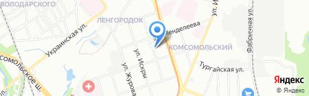 Трубы на карте Нижнего Новгорода