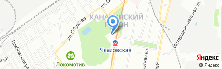 Детский сад №14 на карте Нижнего Новгорода
