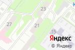 Схема проезда до компании ТСЖ №301 в Нижнем Новгороде