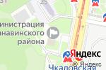 Схема проезда до компании Территориальная приемная главы администрации г. Нижнего Новгорода по Канавинскому району в Нижнем Новгороде