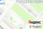 Схема проезда до компании Мимино в Нижнем Новгороде