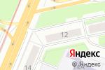 Схема проезда до компании Спецкомплект в Нижнем Новгороде