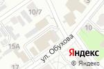 Схема проезда до компании Альбатрос в Нижнем Новгороде