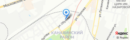 ОТИС Лифт на карте Нижнего Новгорода