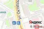 Схема проезда до компании Форте в Нижнем Новгороде
