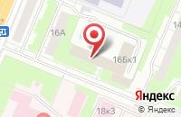 Схема проезда до компании Автограф в Нижнем Новгороде