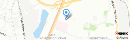 КомРад на карте Нижнего Новгорода