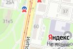 Схема проезда до компании Женский Соблазн в Нижнем Новгороде