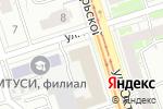 Схема проезда до компании Kryaze в Нижнем Новгороде